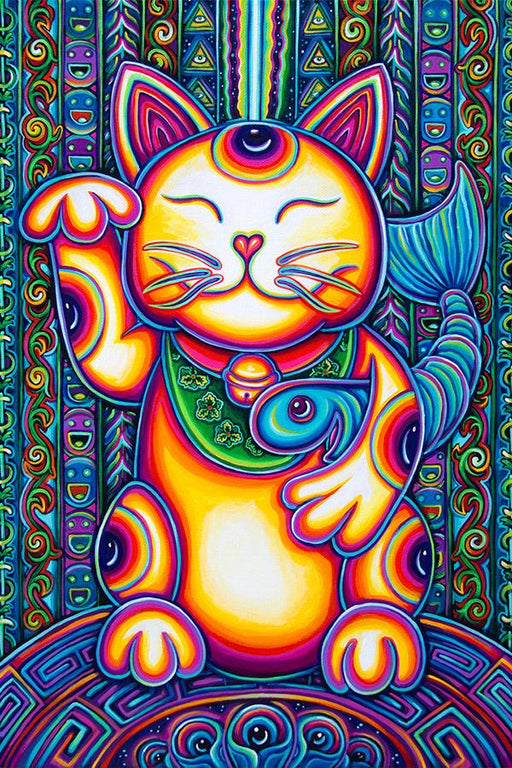 John Speaker - Lucky Cat - Tapestry