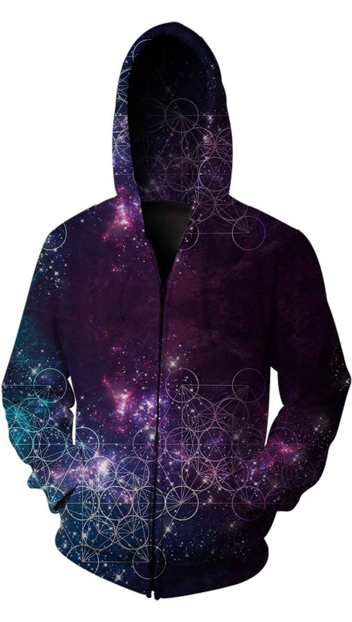 Monique Munoz - Galaxy Zip Up Hoodie