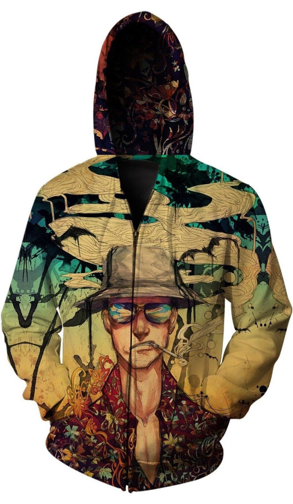 Monique Munoz - Fear and Loathing Zip Up Hoodie
