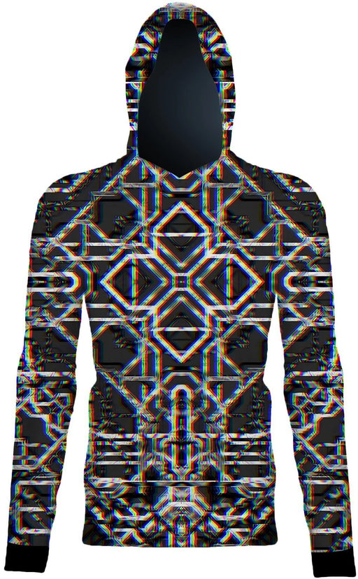 "Daniel W. Prust - ""Rainbow Grid"" Pullover - Limited Edition of 111"