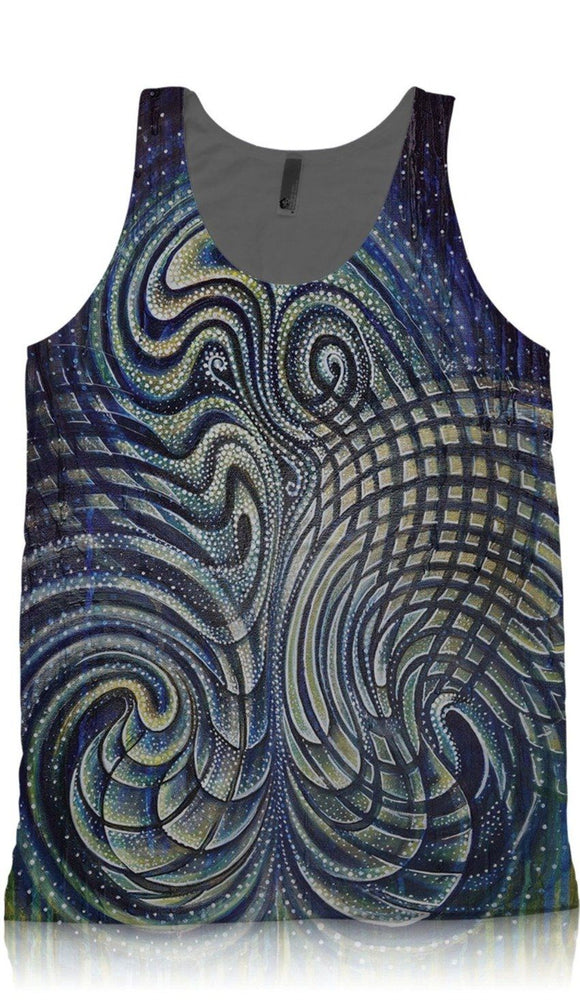 "Synaptic Art - ""Emergence"" - TANK TOP - Limited Edition of 111"