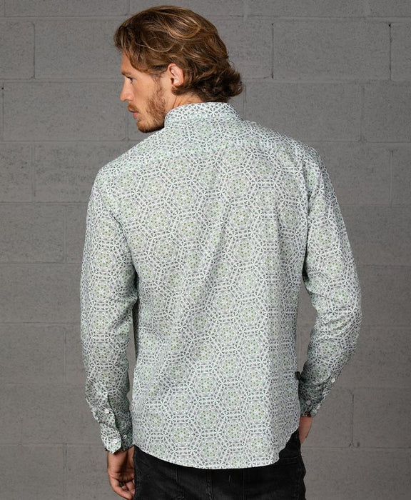 "Seed of Life - ""Hempi"" LS Premium Button Up"