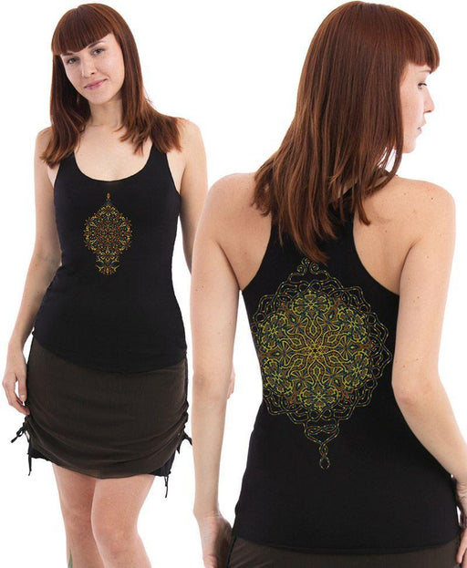 Seed of Life - Peyote Top - Black