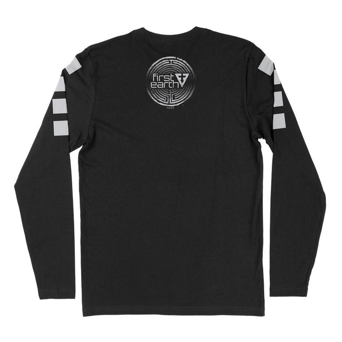 First Earth - Seer Long Sleeve T-SHIRT Black