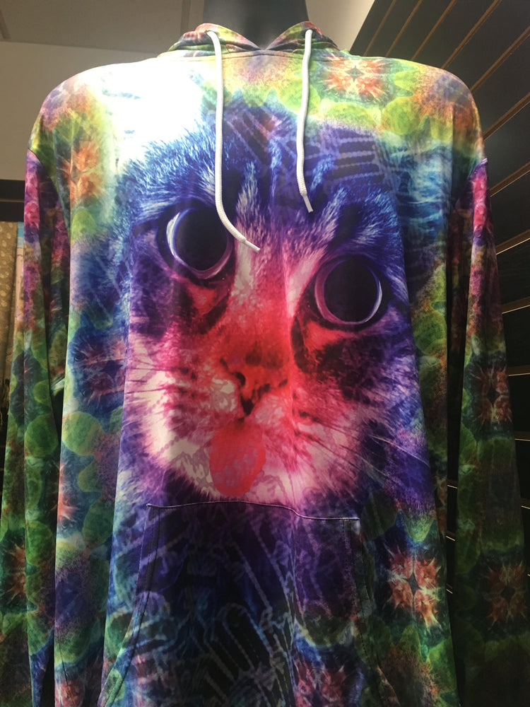 Kaleyedoscopecreations - Trippy Kitty Pullover - Limited Edition of 111