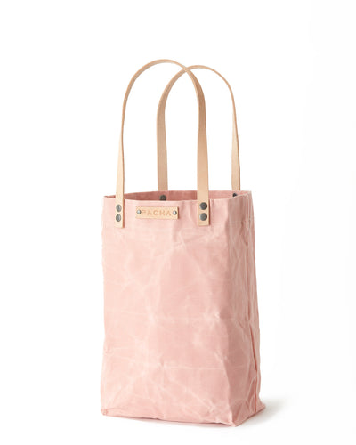 Waxed Canvas ATLAS TOTE Flamingo Pink