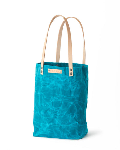 Waxed Canvas ATLAS TOTE Tropic Teal