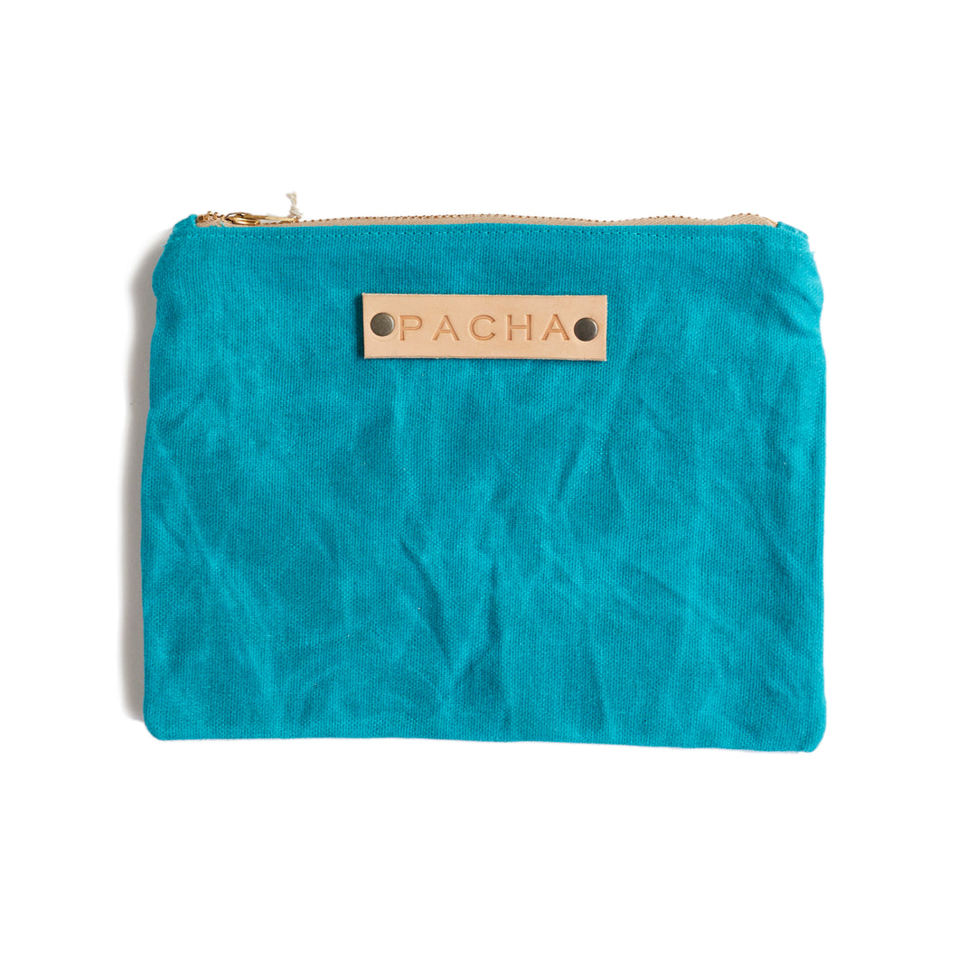 Large Field Pouch - Tropic Teal