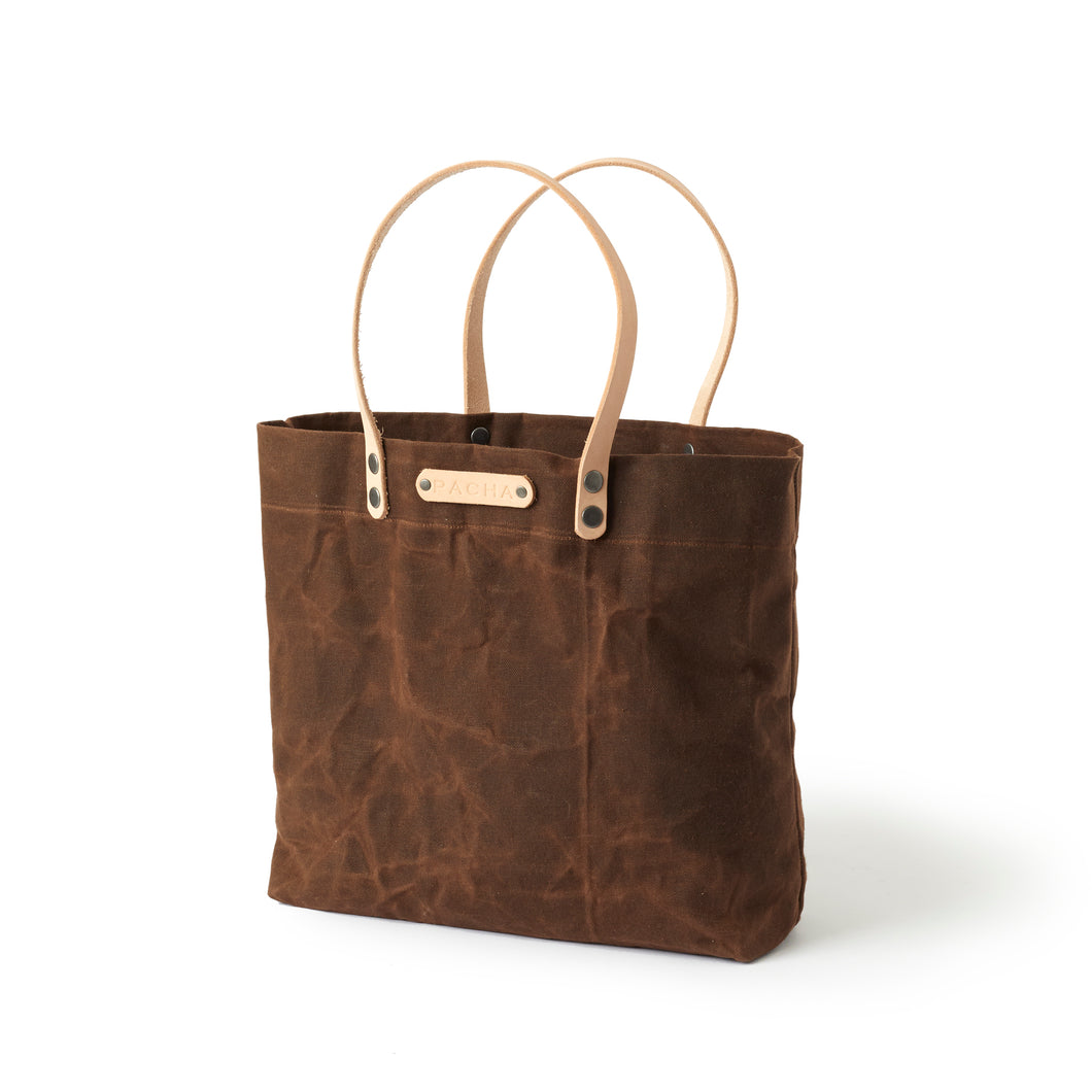 Classic Tote - Chocolate Brown