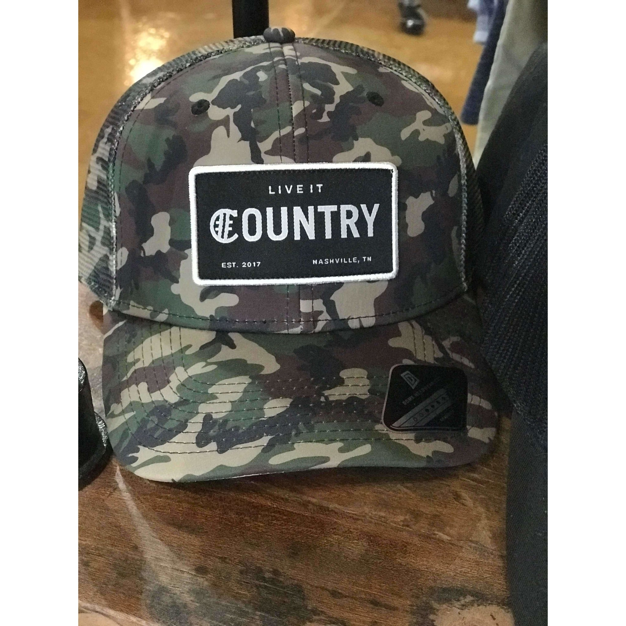 5f2f27f8efb Country Patch Dri 2 Trucker Snapback - Hashtag Country
