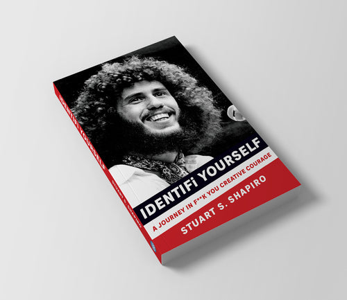 IDENTIFi YOURSELF: A Journey In F**k You Creative Courage (Signed)