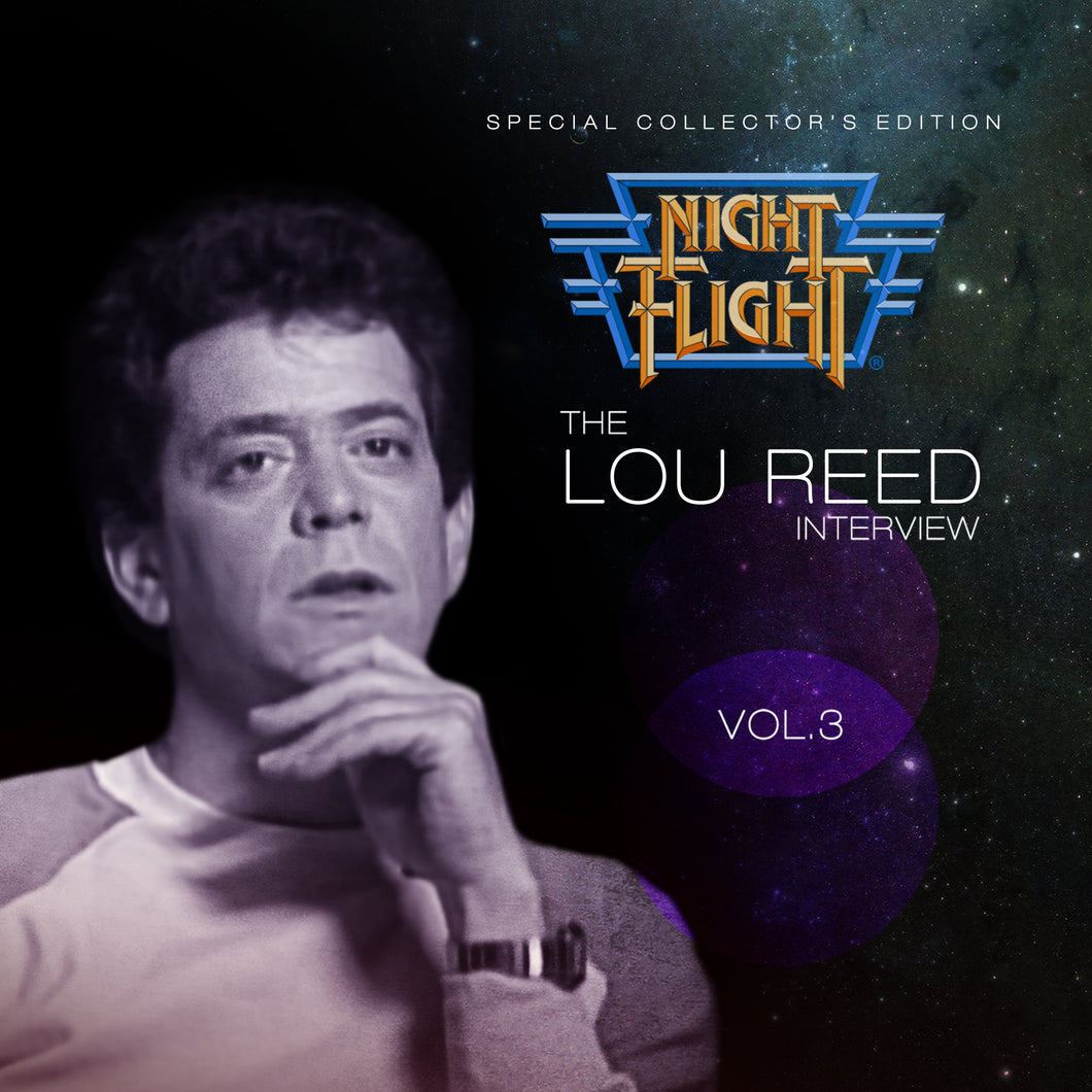 Lou Reed - Night Flight Interview
