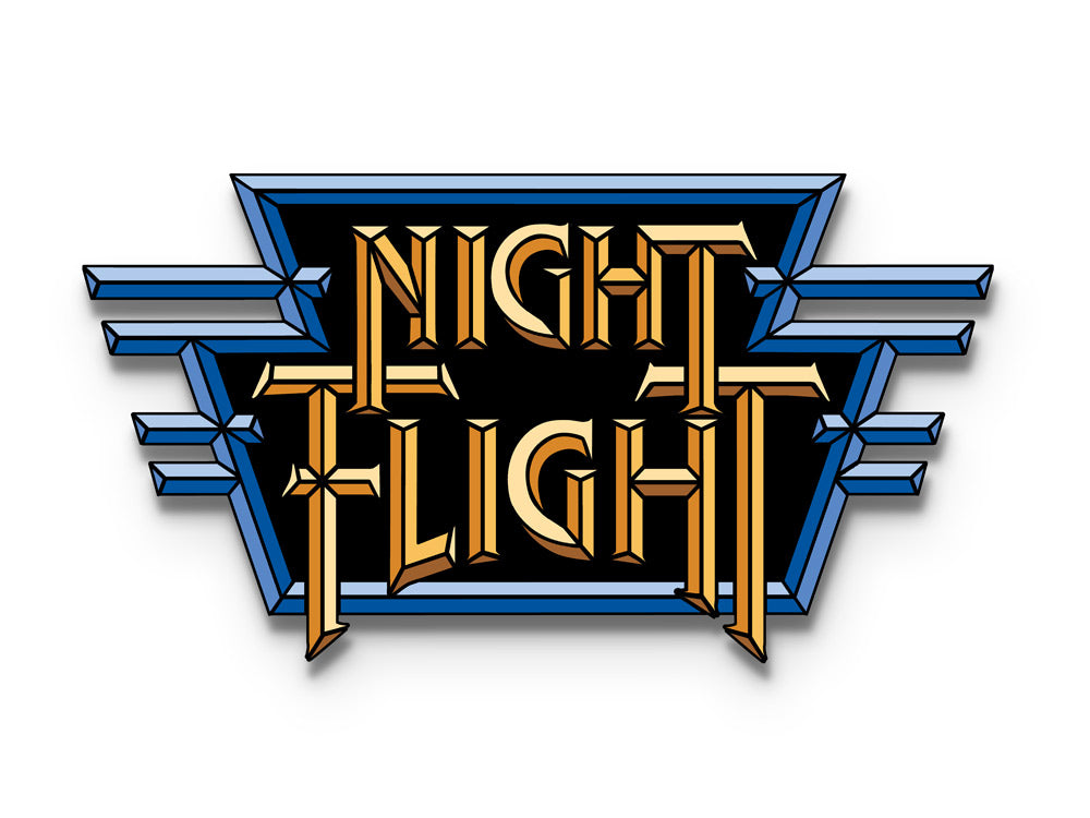 Night Flight Enamel Pin