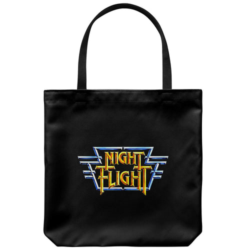 Night Flight Tote Bag