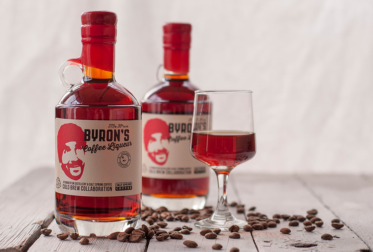 Meet Byron's Organic Coffee Liqueur