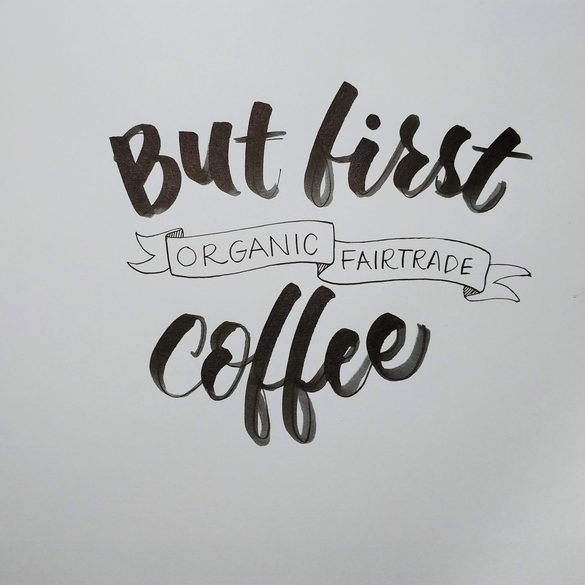 But first... not just any old coffee!