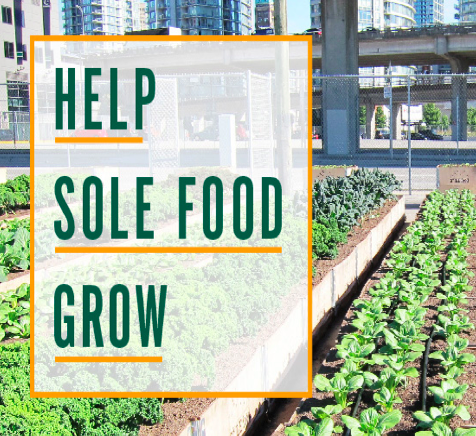 Give a little to GROW more food for our community