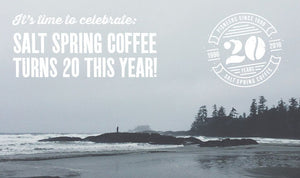 Salt Spring Coffee is 20—let's celebrate!
