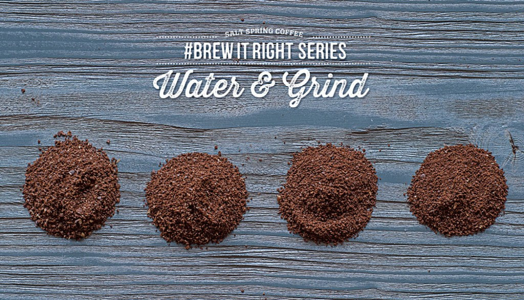 Brew It Right: Water & Grind