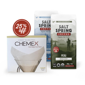 Chemex Filters & Coffee Bundle