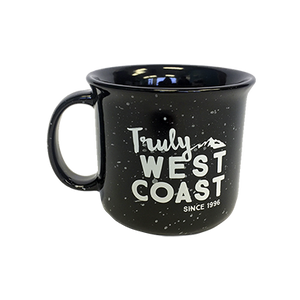 15 oz Ceramic Campfire Mug, Black