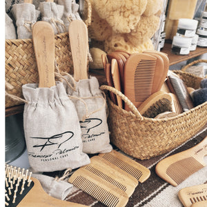 Wooden Hair Brush-Ekeco Essentials