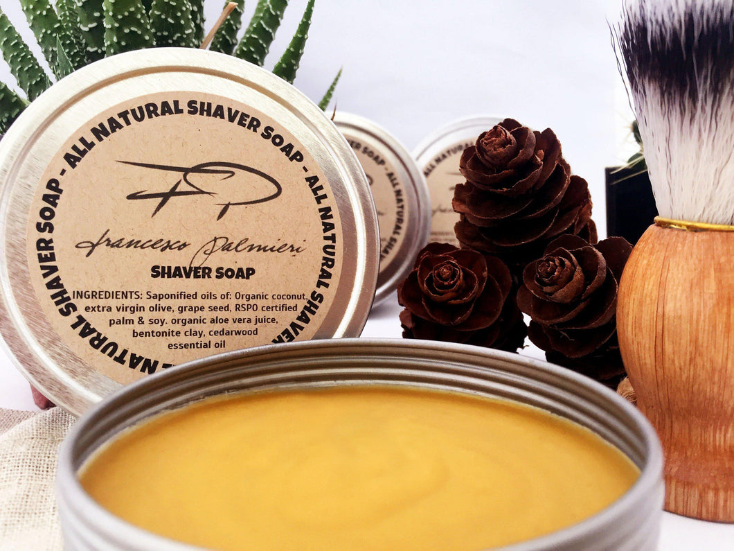 Shaver Soap - All Natural - Francesco Palmieri