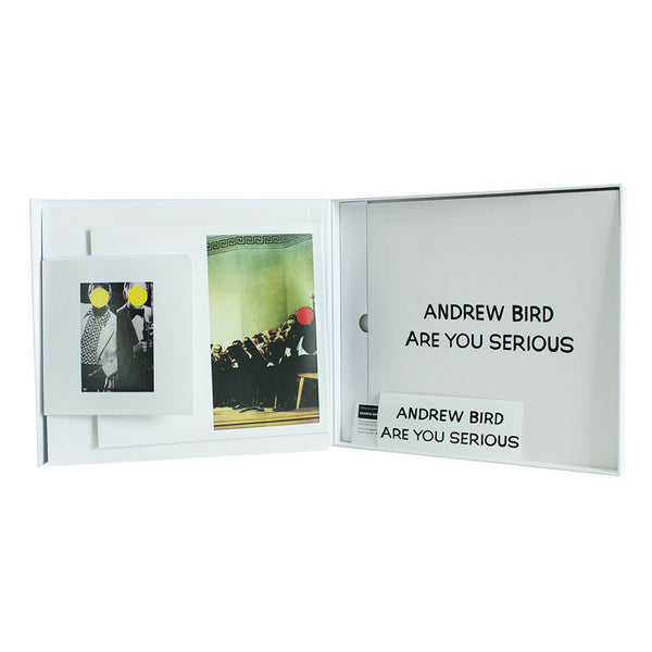 Andrew Bird- Are You Serious (Deluxe Vinyl Box Set)