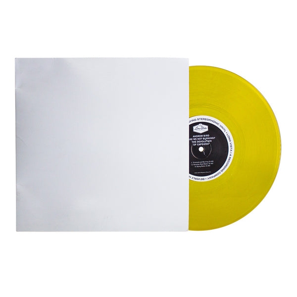 "Andrew Bird- Are We Not Burning? The Devolution Of Capsized - 10"" Vinyl (Yellow)"