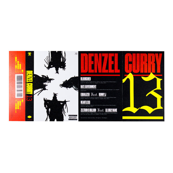 Denzel Curry- 13 (Cassette)