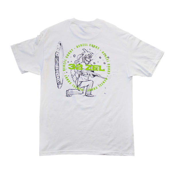 Denzel Curry - 32 Zel T-Shirt (White)