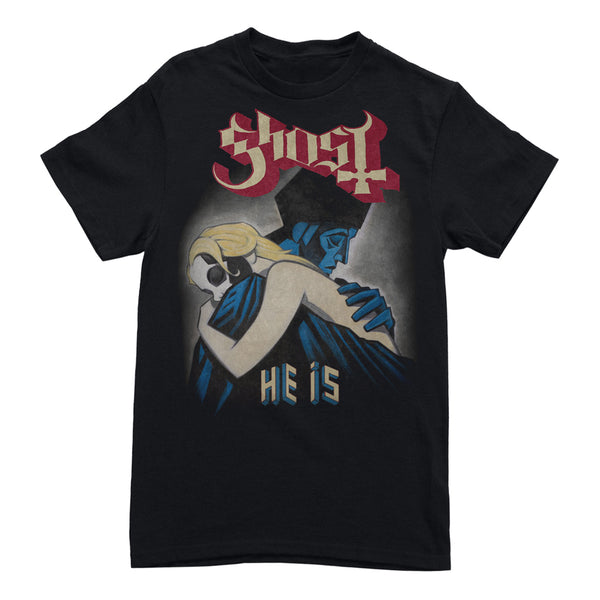"Ghost - ""He Is"" Black T-Shirt"