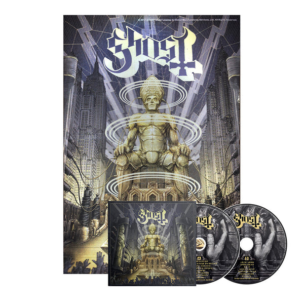 Ghost - Ceremony and Devotion (Poster & Album Bundle)