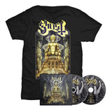 Ghost - Ceremony and Devotion (T-Shirt & Album Bundle)