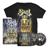 Ghost - Ceremony and Devotion (T-Shirt, Poster, & Album Bundle)