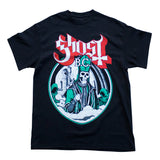 Ghost- Skeleton Pope Black T-Shirt