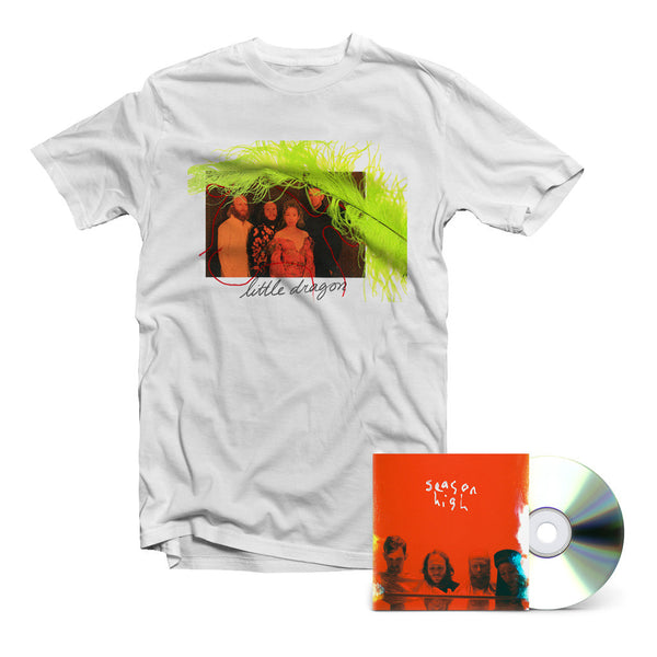 Little Dragon - Season High CD + T-Shirt