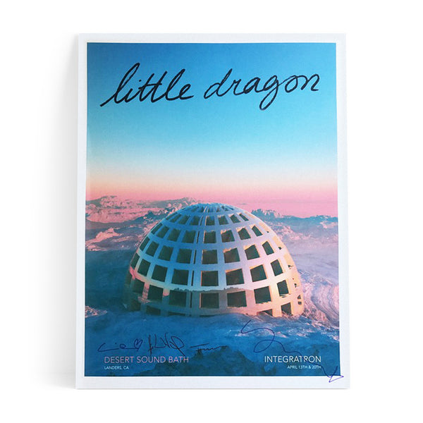 Little Dragon - Limited Edition Autographed Poster