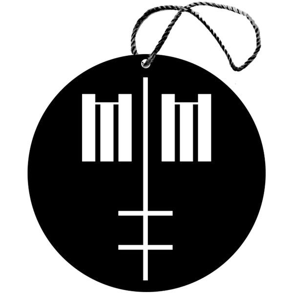 Marilyn Manson Christmas Ornament
