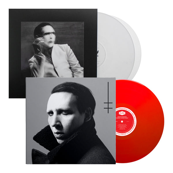 Marilyn Manson- Heaven Upside Down (180g Red Vinyl) & Pale Emperor White Vinyl Bundle