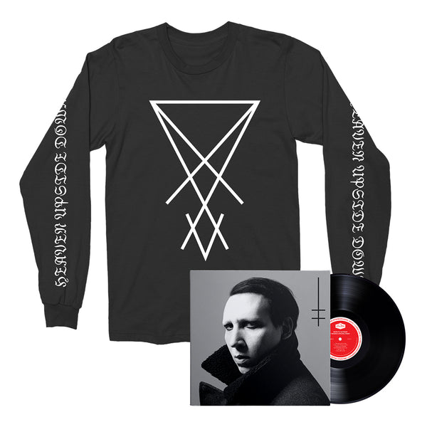 Marilyn Manson- Heaven Upside Down (T-Shirt & Album Bundle)