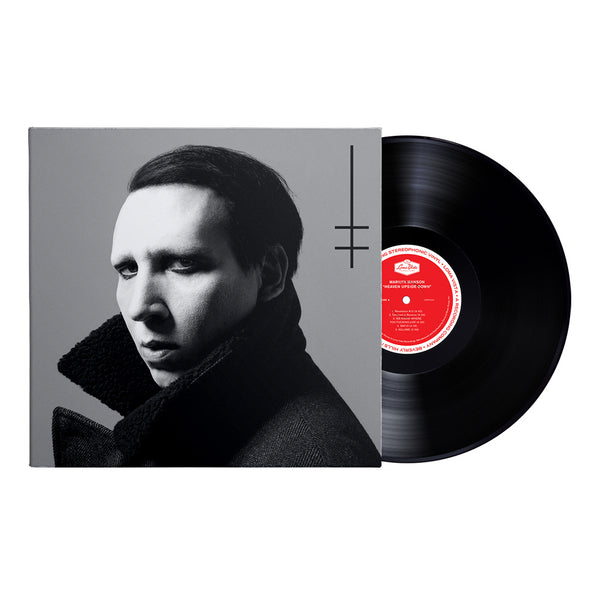Marilyn Manson- Heaven Upside Down (Standard Black Vinyl)