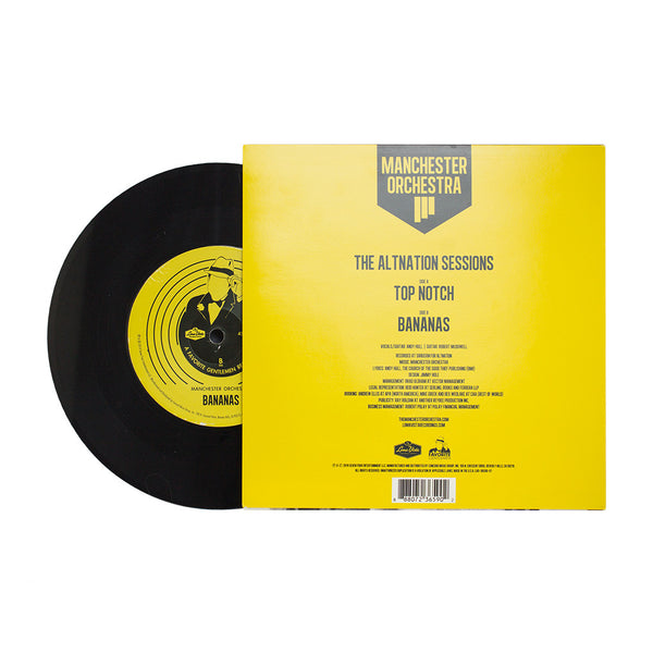 Manchester Orchestra - Top Notch / Bananas AltNation Session Vinyl 7""