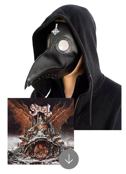 Ghost - Prequelle (Plague Mask + MP3 Album Bundle)