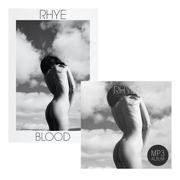 Rhye - Blood Digital Album + Poster Bundle