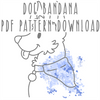 Dog Bandana PDF PATTERN DOWNLOAD