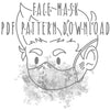 Face Mask PDF PATTERN DOWNLOAD