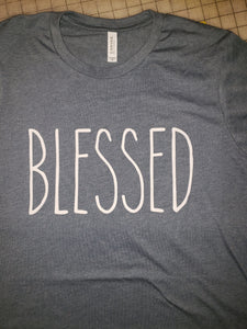 BLESSED Graphic Tee Shirt