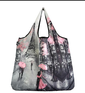 SPRING TIME IN PARIS JUMBO Reusable Bag