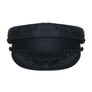 Greek Sailor Hat - Black